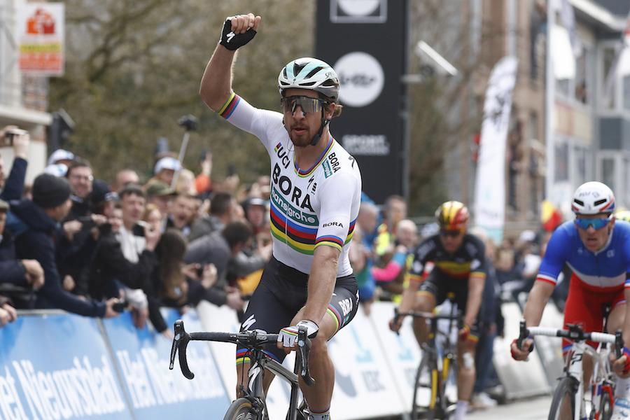 "Gent – Wevelgem 2018 – 80th Edition – Deinze – Wevelgem 251 km – 25 03 2018  – Peter Sagan (SVK – Bora – Hansgrohe) – photo Luca Bettini BettiniPhoto© 2018. "" 2a74287e5"