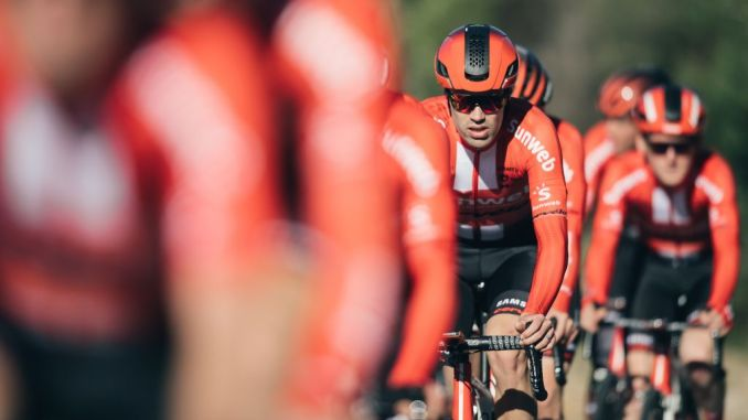New Jersey Day! Team Sunweb shows off new look c23db7d0e