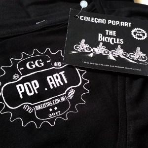 The Bicycles - Camiseta feminina preta