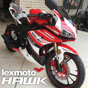 Lexmoto Hawk 125 125 Race Colours
