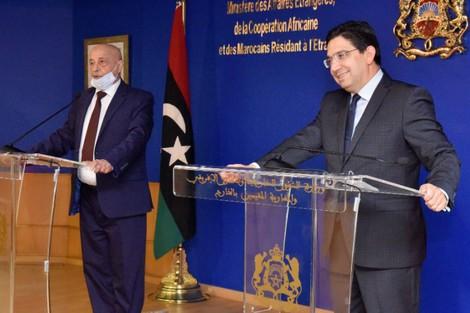 رئيس مجلس النواب الليبي.. شعبنا يُعوِّل على ملك المغرب