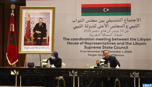 طنجة.. انطلاق الاجتماع التنسيقي بين مجلس النواب الليبي والمجلس الأعلى للدولة الليبي (13 + 13)