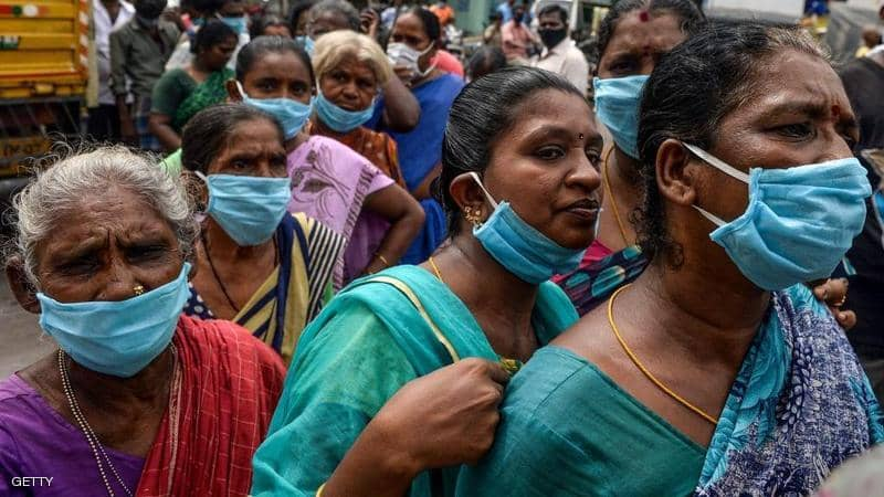 منظمة الصحة العالمية.. نصف إصابات فيروس كورونا في العالم توجد بالهند فقط