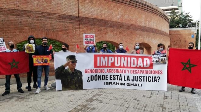إسبانيون ضحايا الأفعال الإجرامية لـ
