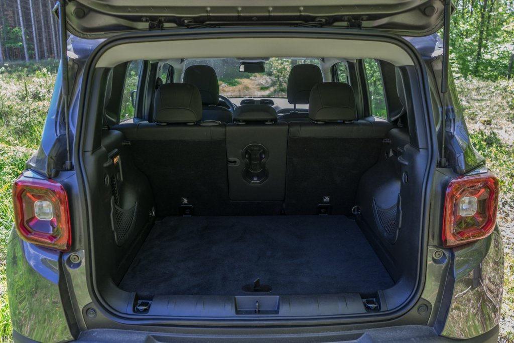 Jeep Renegade bagagerum