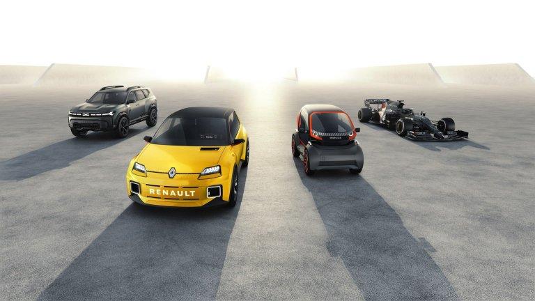 Renault og Dacia modeller