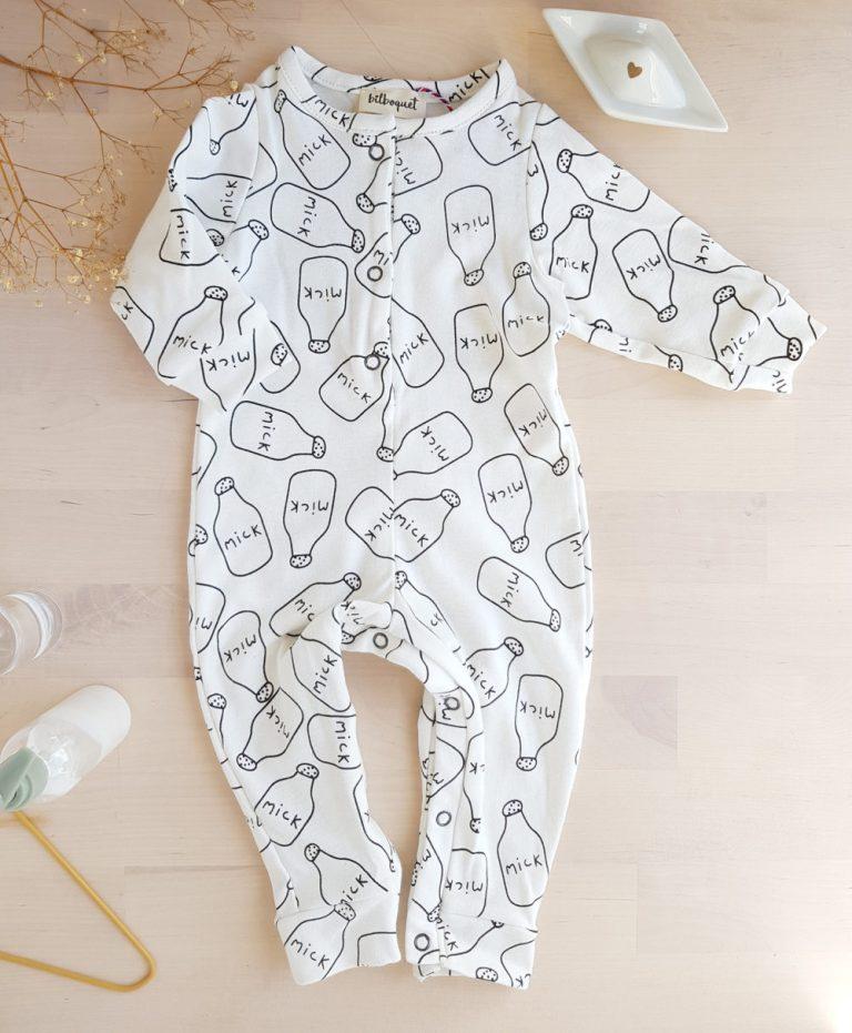 combinaison bebe cadeau naissance blanc original noel garcon mixte unisexe