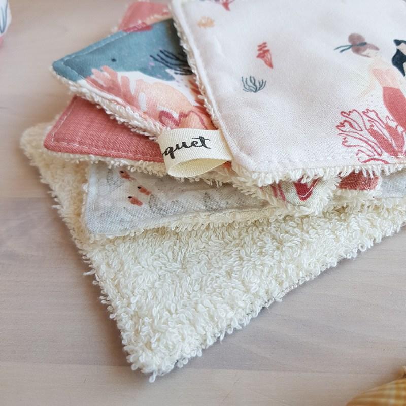 lingette coton lavable reutilisable ecolo pas cher cadeau original france francaise fabrication lyon bilboquet