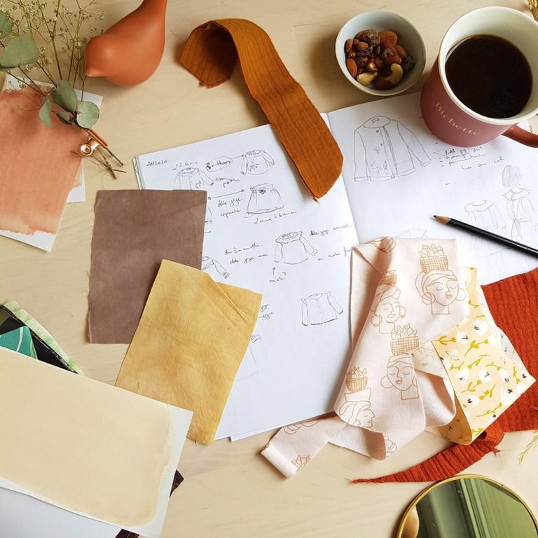 styliste lyon mode enfant bebe cadeau naissance accessoire made in france slow fashion atelier bilboquet lyon