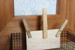 Organisation Tips and Tricks – Use Pegs for useful decoration