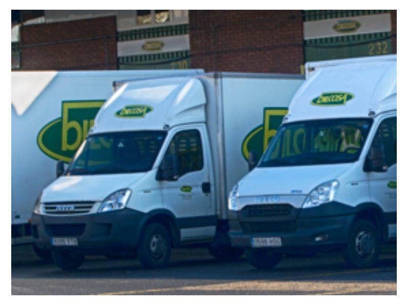 Logo Distribucion bilcosa mercabilbao camiones frutas y verduras