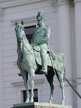 Bilder von Hamburg  Fotos vom KaiserWilhelmDenkmal  Altona