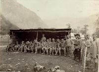 Italienische Kriegsgefangene im Lager Pologar | K.u.k ...