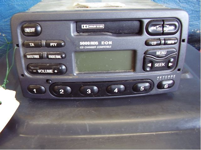 Need The Wiring Diagram For The Radio For A 1995 Ford Escort