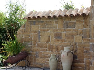 Mediterrane auenwand  Mischungsverhltnis zement
