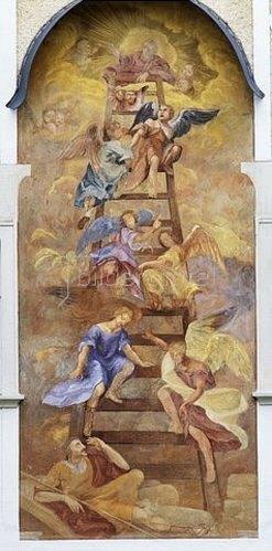 Jakob mit der Himmelsleiter von Unbekannter Knstler