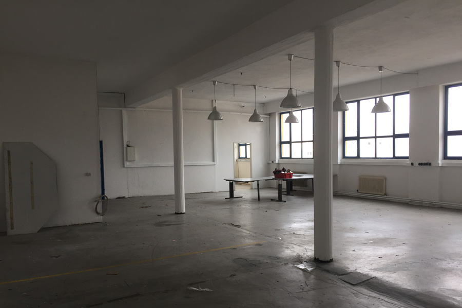 Studioloft vor dem Umbau