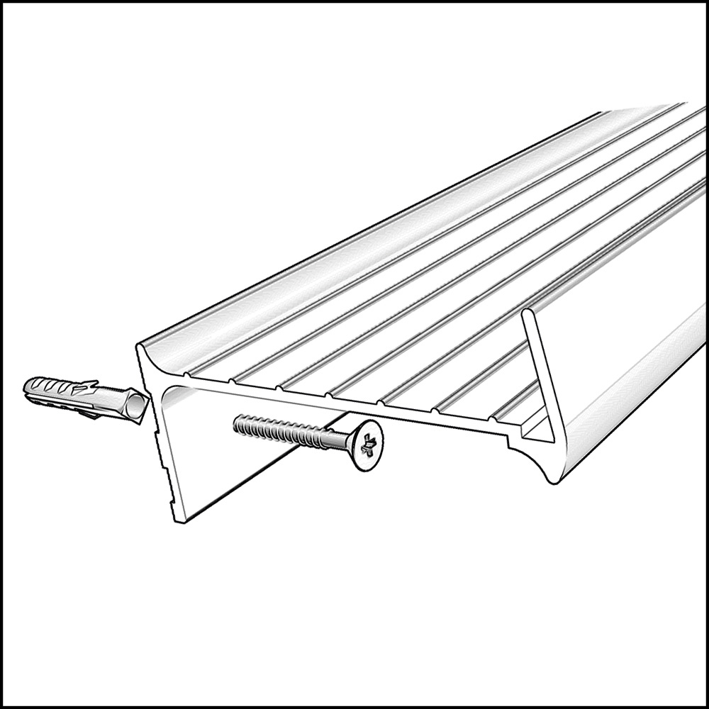 Setup Schiene 145 cm in weiß günstig online kaufen