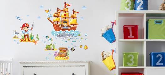 Prodotto semplice da applicare (istruzioni sotto) adesivo rimovibile senza danneggiare il muro Adesivi Murali Per Bambini Decorazioni Per Camerette