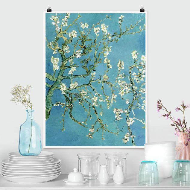 {:en}our vincent van gogh 'almond blossom' wallpaper mural is a depiction of one of. Poster Vincent Van Gogh Mandorlo In Fiore Verticale 3 4 Su Bilderwelten It