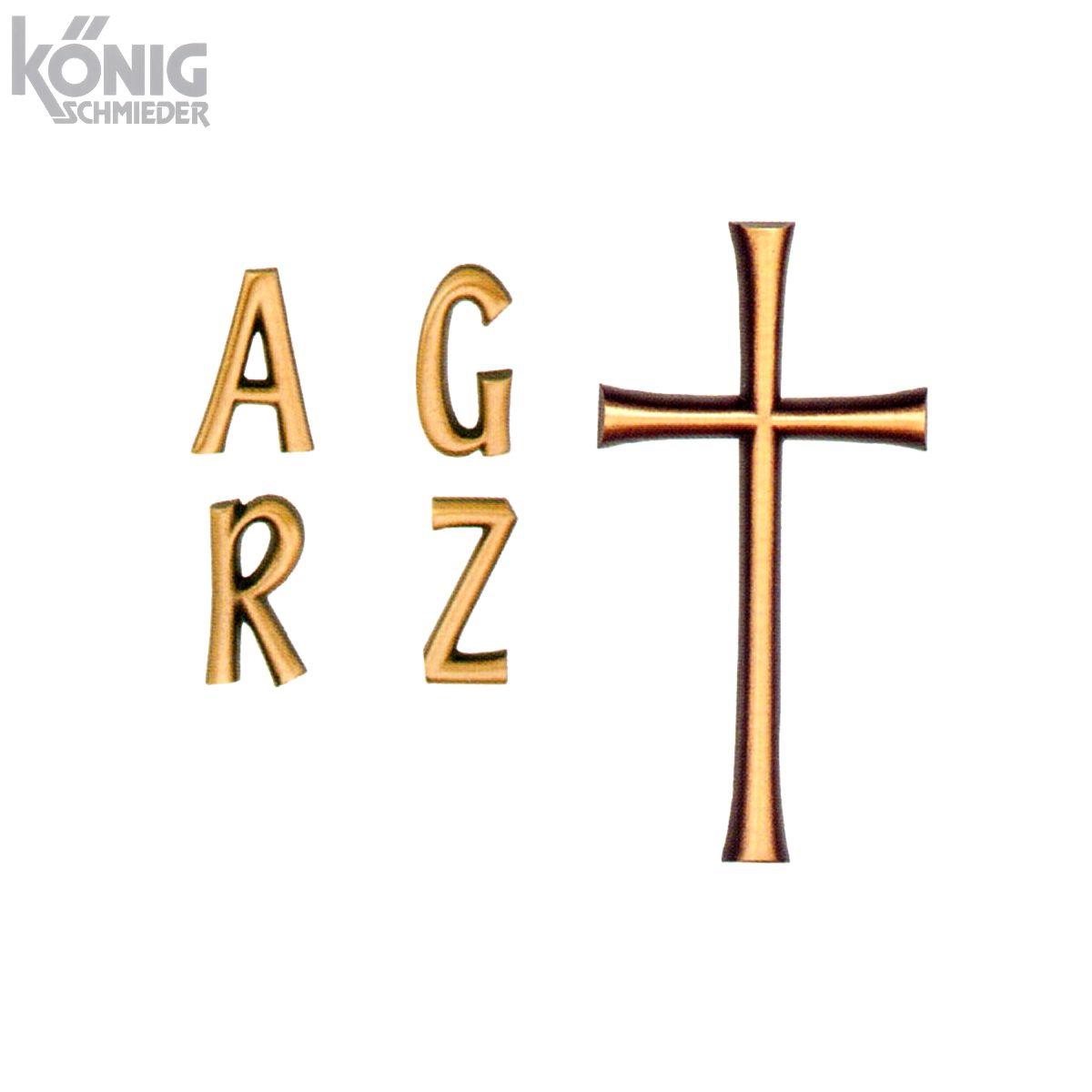Buchstaben Für Grabsteine Aus Bronze Und Aluminium Typ Trenta