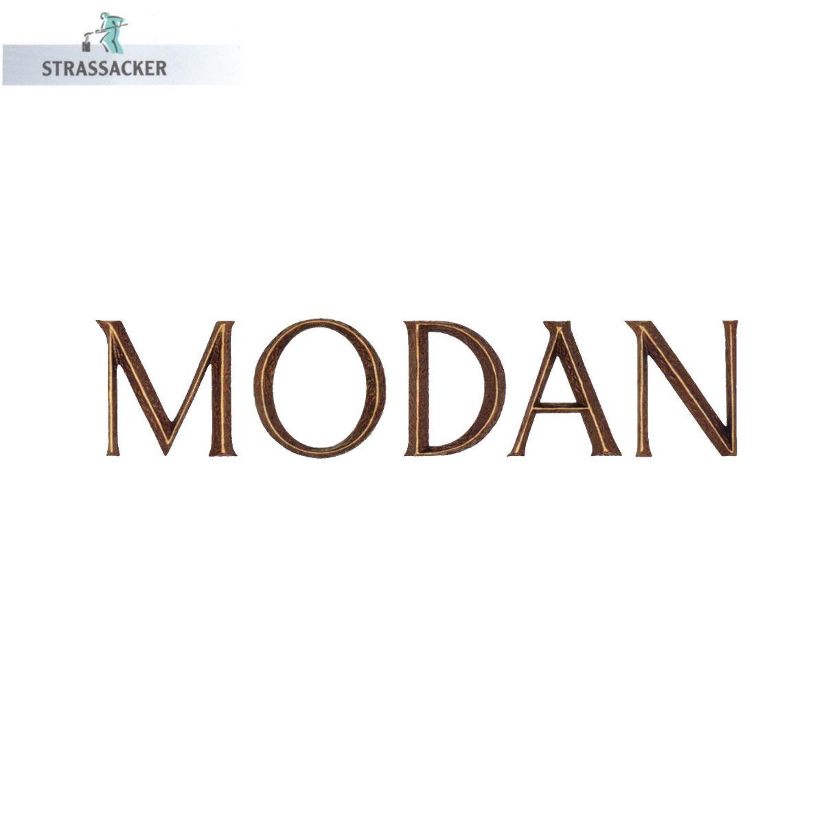 Bronzebuchstaben Modan Von Strassacker - Buchstaben Fuer Grabsteine