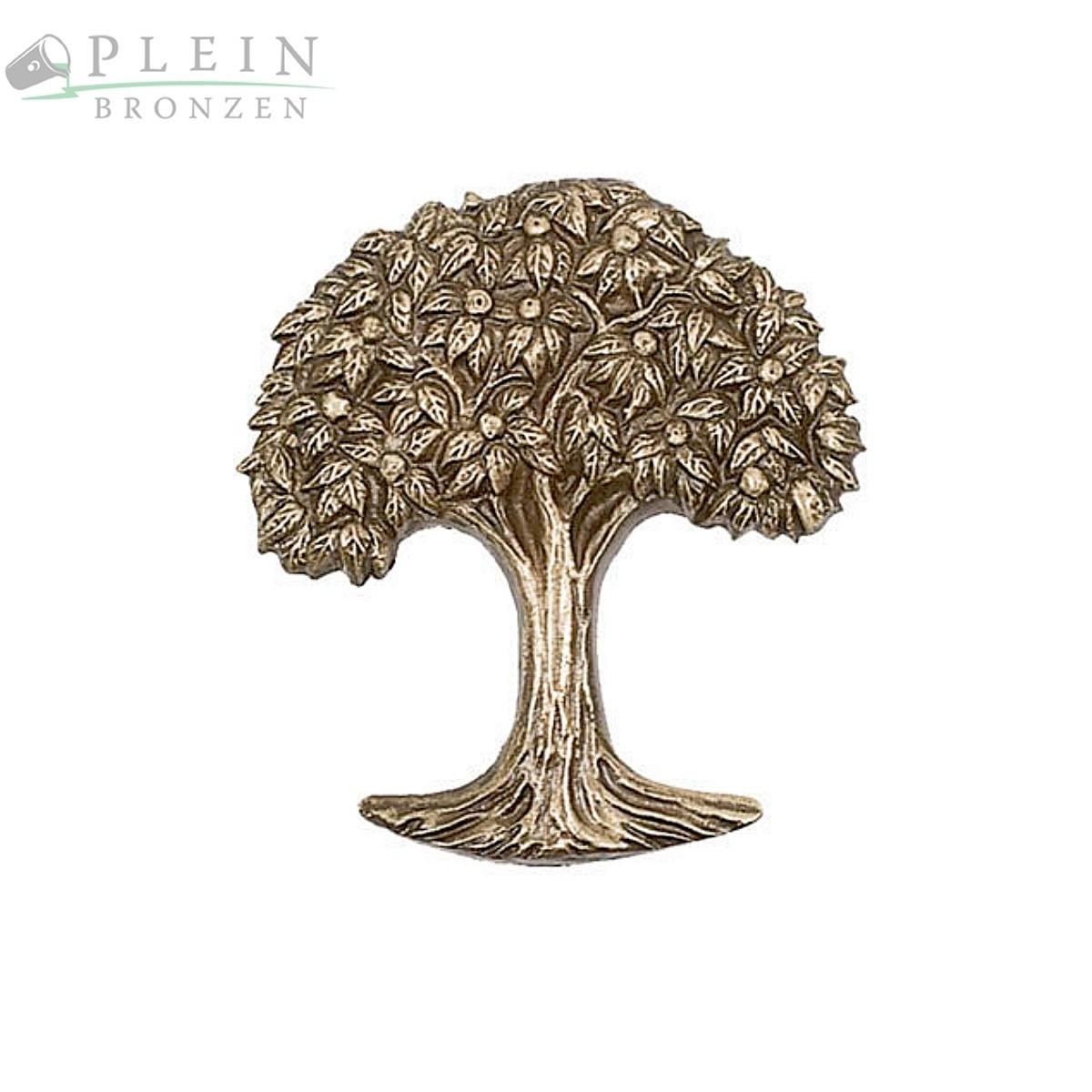 Relief Eines Lebensbaum Aus Bronze Oder Aluminium | Bronzebuchstaben