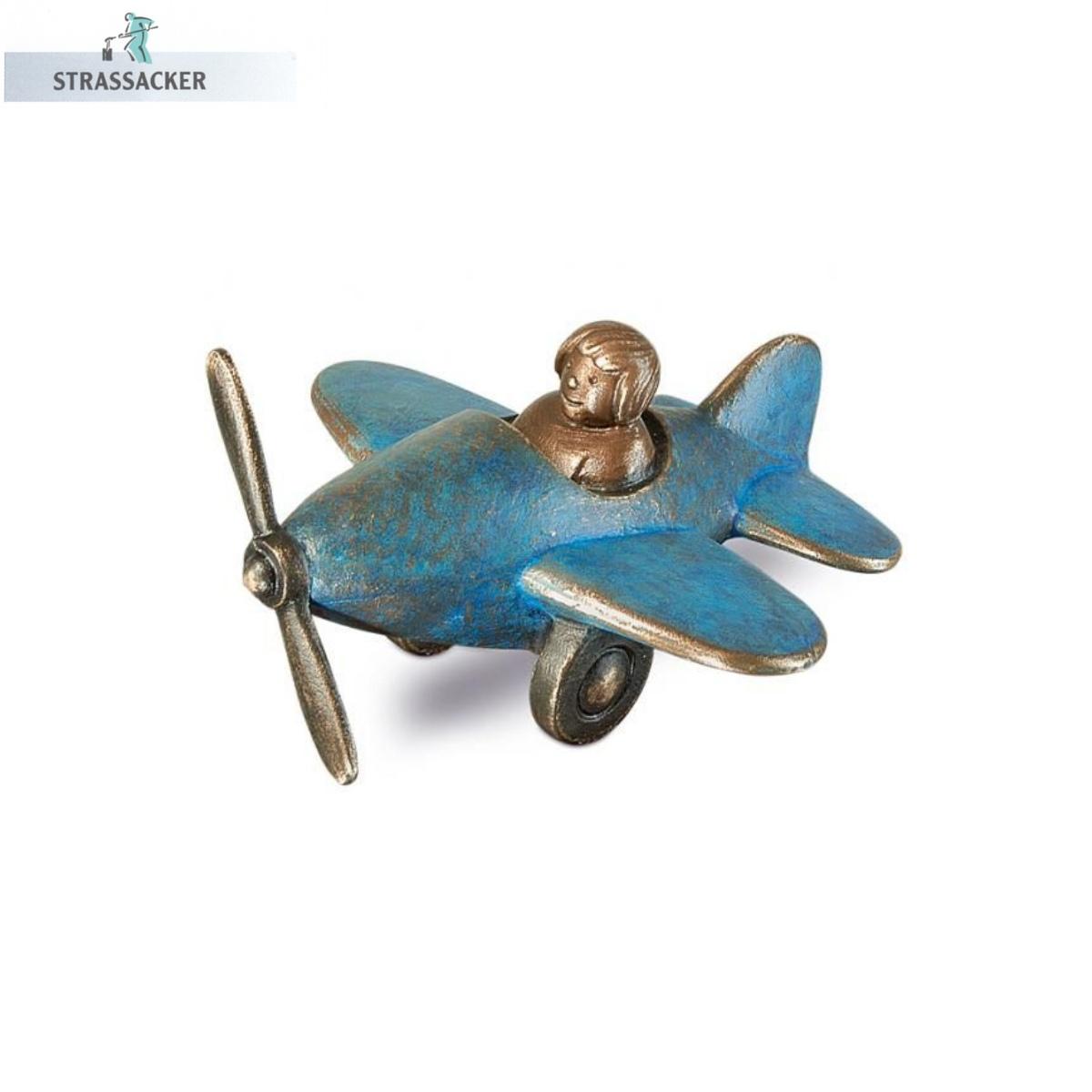 Flugzeug Aus Bronze Für Grabsteine - Bronzeflugzeug