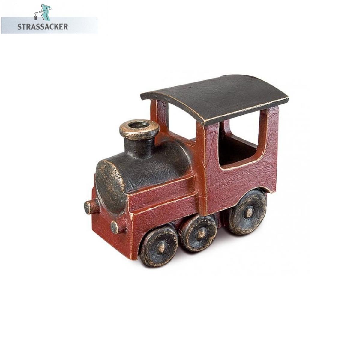 Eisenbahn / Lokomotive Aus Bronze Für Grabsteine - Bronzelokomotive