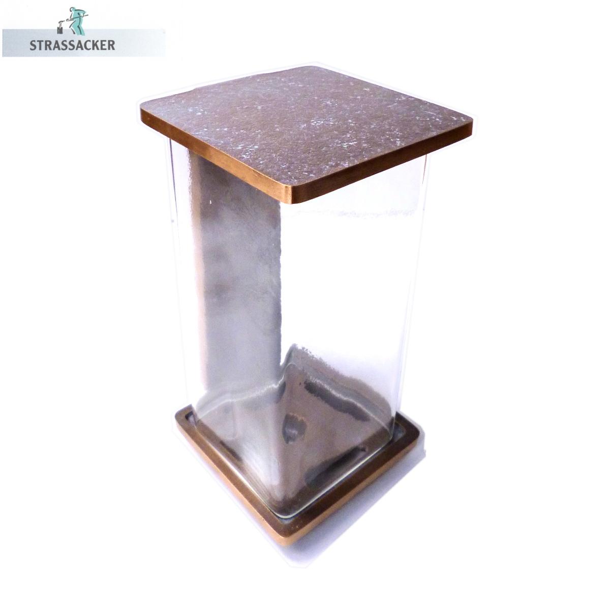 Grablampe Aus Bronze - Grableuchte Der Gießerei Strassacker