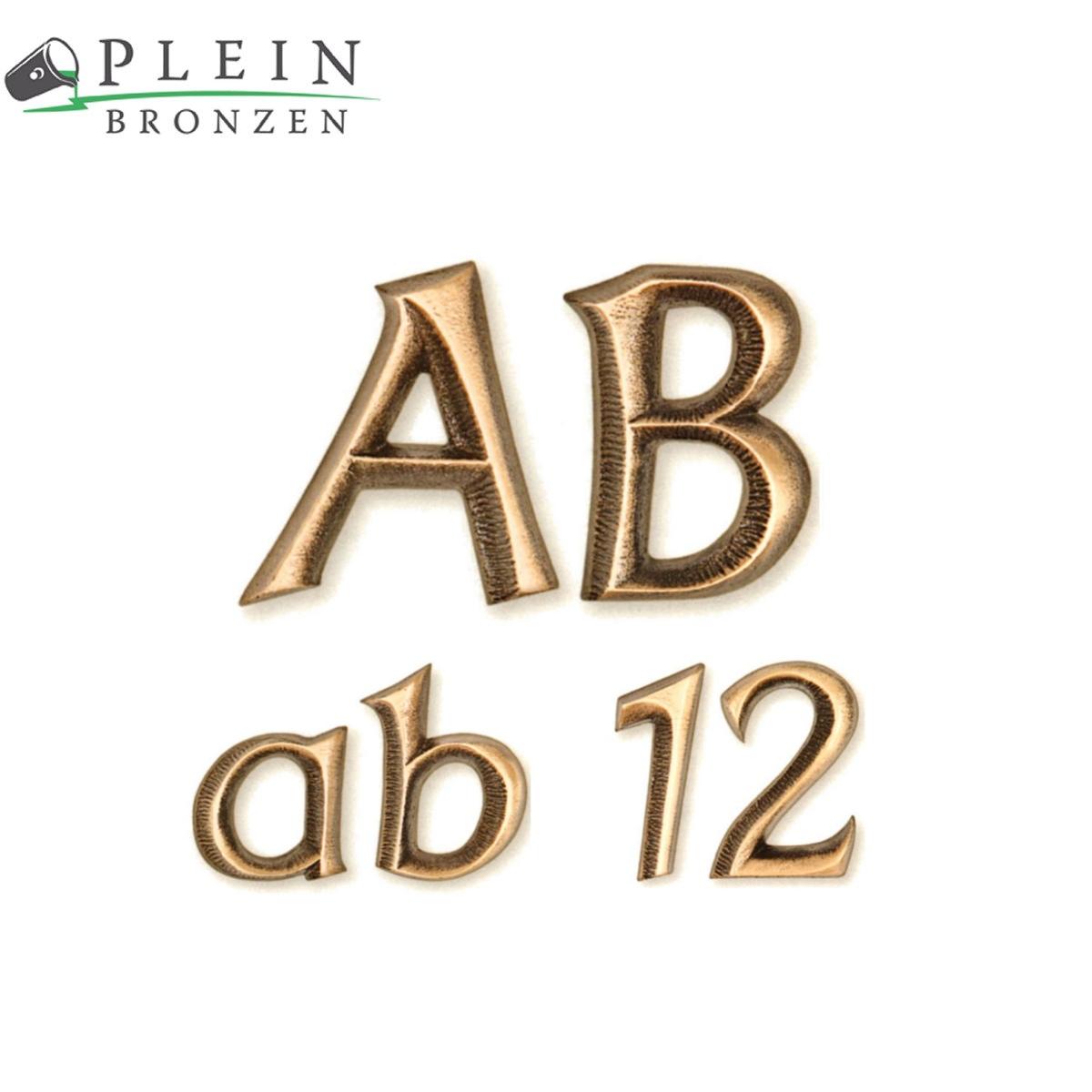 Buchstaben Für Grabsteine Aus Bronze Und Aluminium Typ Frank 1044
