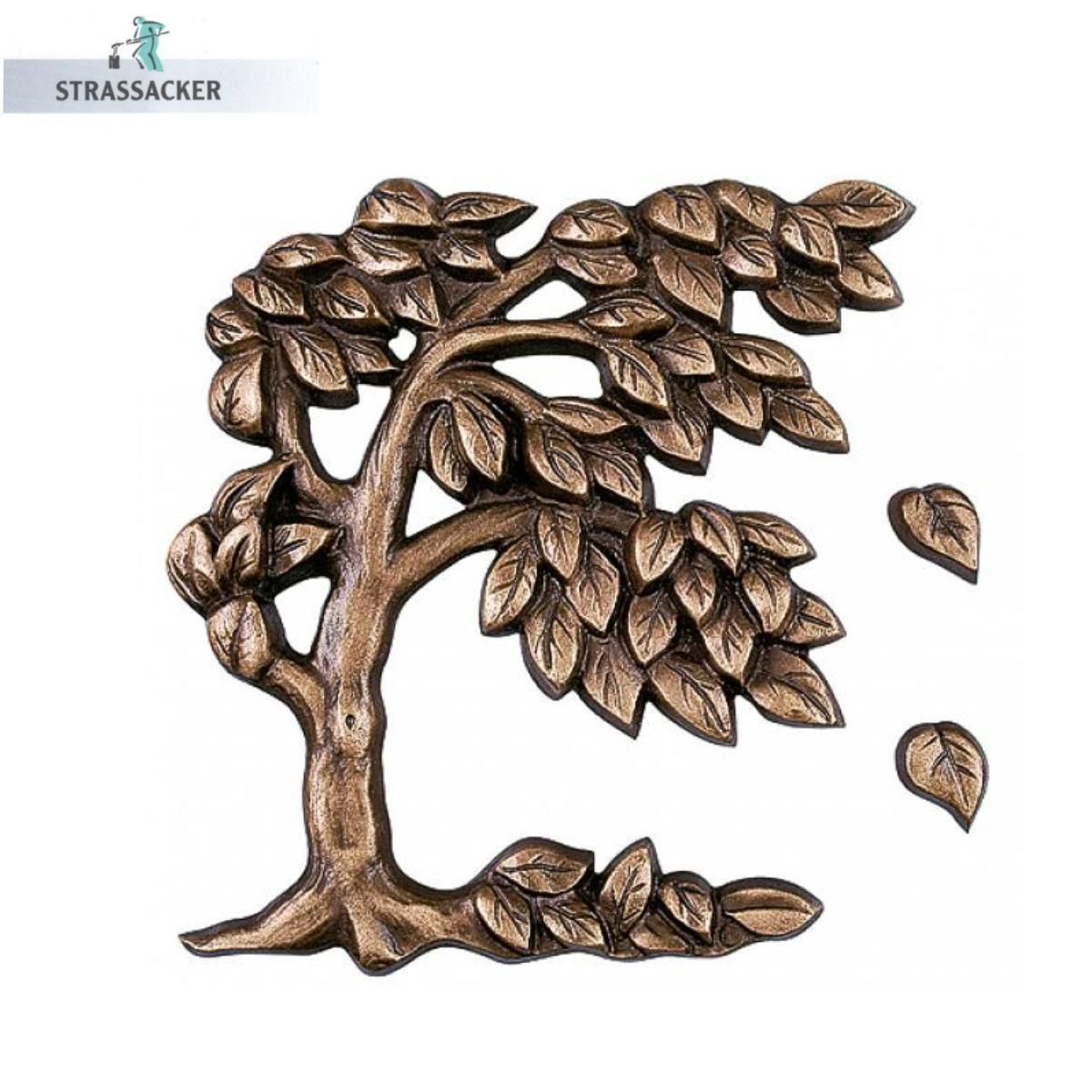 Lebensbaum Für Grabsteine - Bronzelebensbaum | Bronzebuchstaben