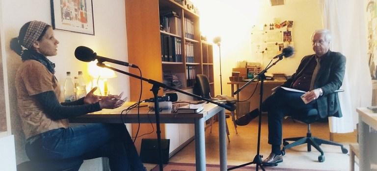 Dekan Peter Huschke im Podcast