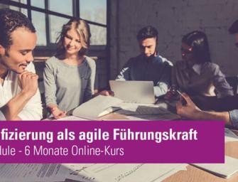 Agile Führung – Zertifikatslehrgang