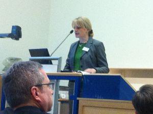 Prof. Dr. Andrea Szczesny, Vize-Präsidentin der Uni Würzburg