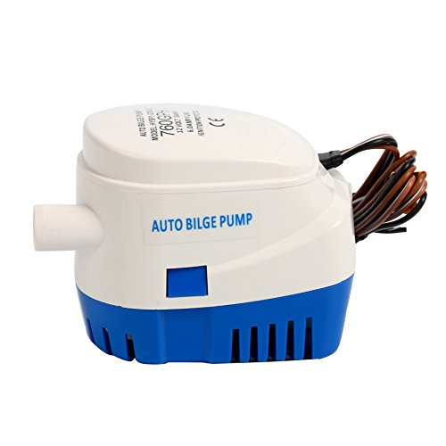 SEAFLO /'NEW PATENTED/' 750GPH 12v AUTOMATIC SUBMERSIBLE BILGE PUMP marine boat