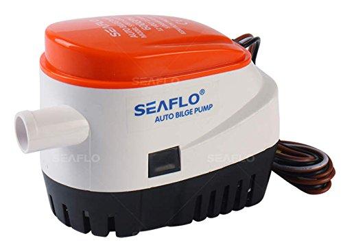 Bilge Pump 12V 750GPH Automatic Submersible Bilge Water Pump With Float Switch For Boat Duokon Water Bilge Pump