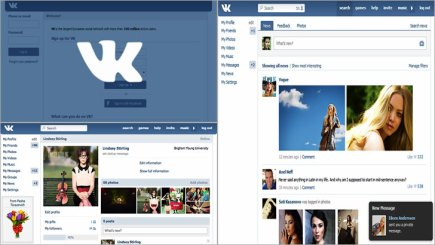 VK ( Russian Base Social Network)