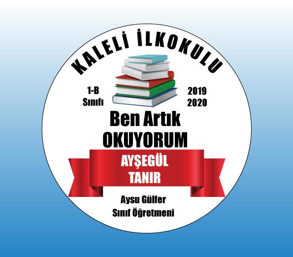 4 1 - Artık Okuyorum Madalyası