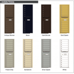 12 tenant doors with
