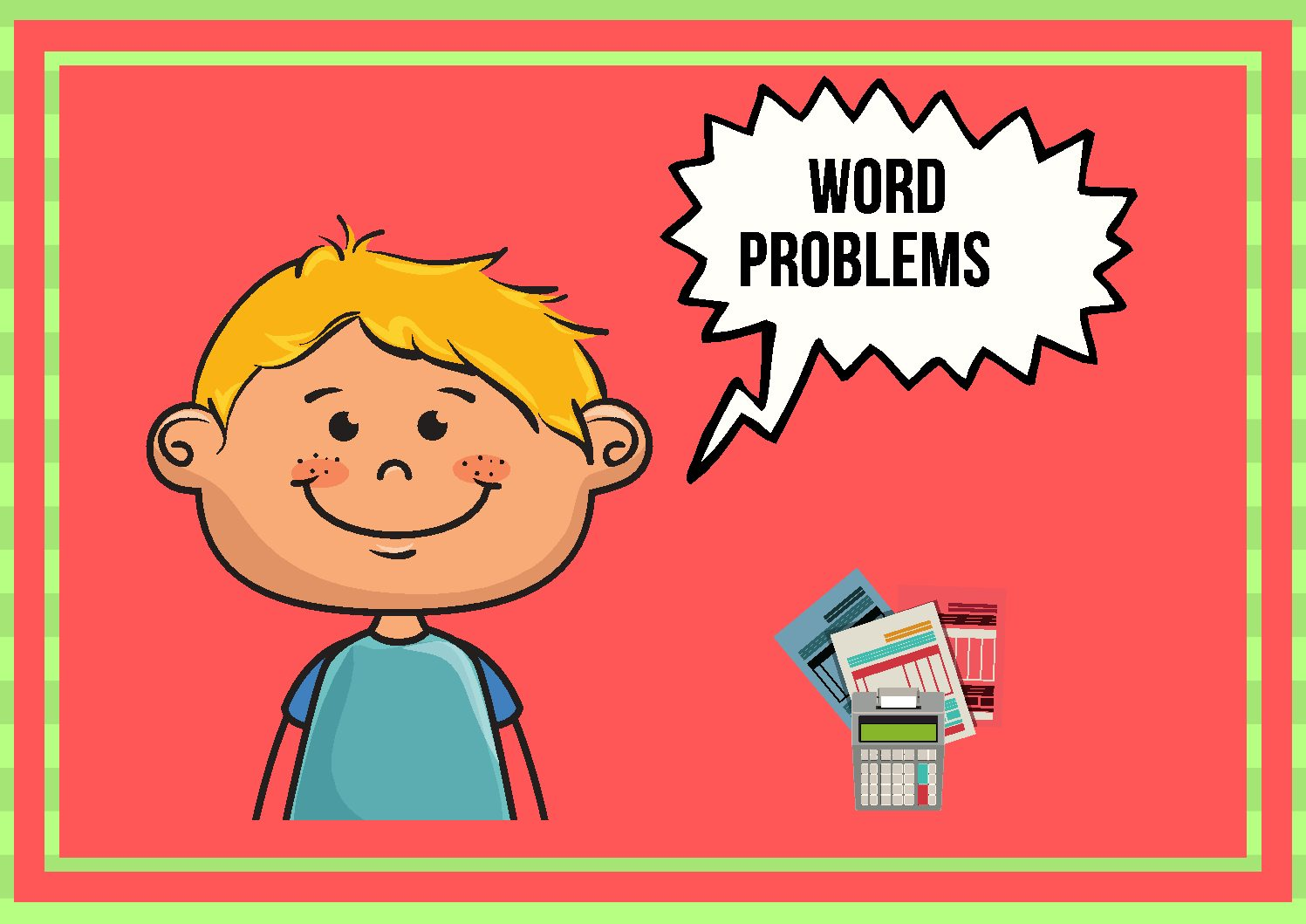 Money Problem Solving Mats Bilingual Pieces