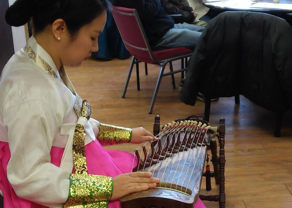 Lunar New Year Music Perfomance Photo