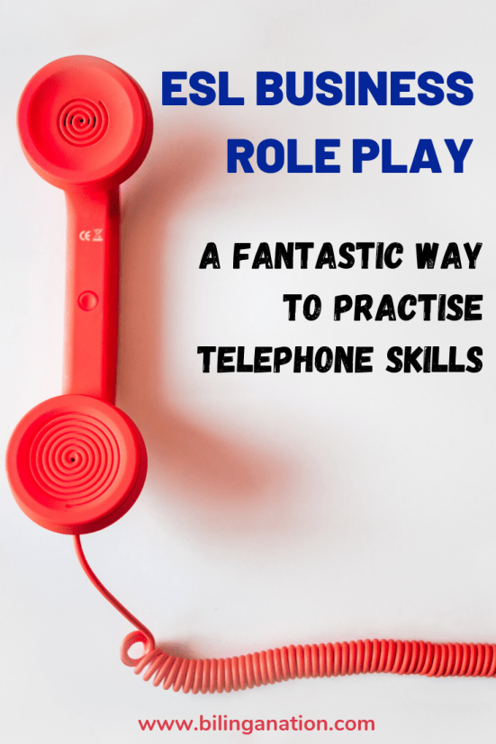 esl role play telephone skills