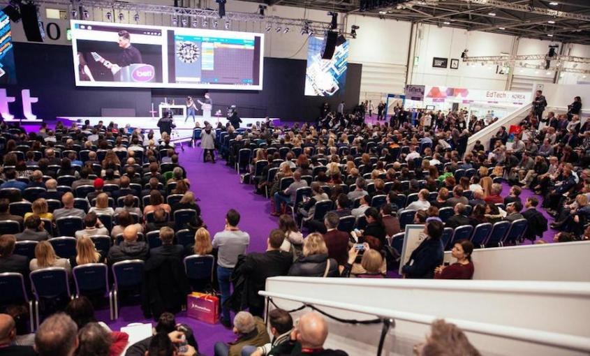 Interpreting for BETT 2017
