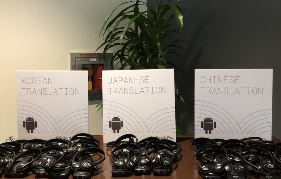 Translation Headsets by language