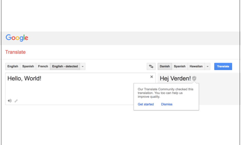 Google Translate Nordic