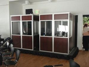 Legend Cases Translation Booths