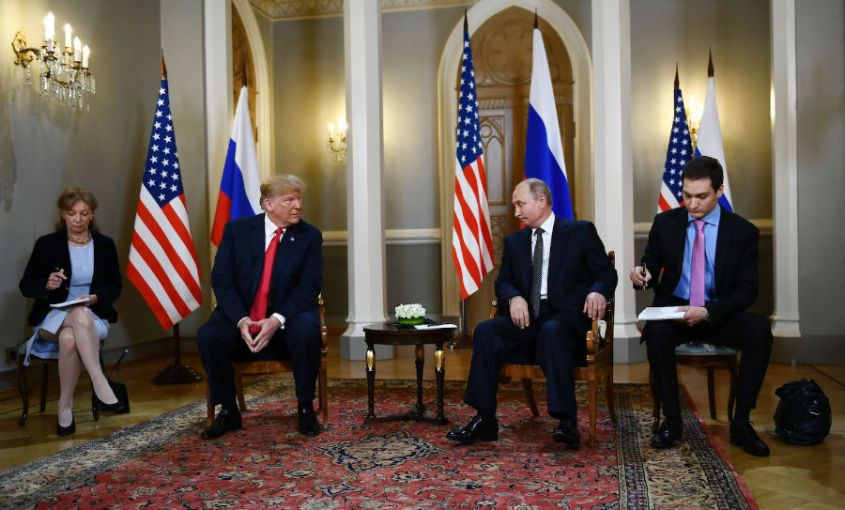 Putin Trump Helsinki Meeting