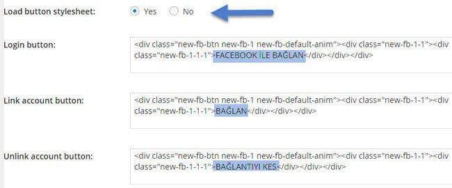 facebook-ile-baglanma-ayarlama
