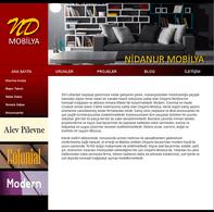 Web Tasarım ve Programla 1.Dönem 3.Uygulama Sınav Mobilya Sitesi